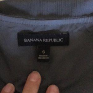 Banana Republic Tops - Banana Rep. Dark grey chiffon top with layers